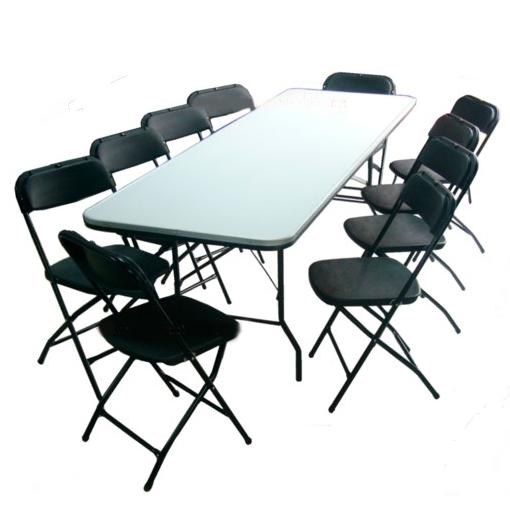 Renta de sillas y mesas eventos y fiestas renta le n for Ofertas en mesas y sillas