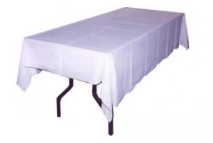 renta de mesas con mantel