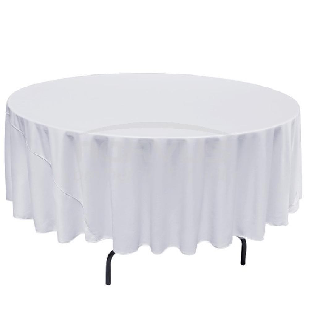 Renta de mesas redondas renta le n for Manteles de